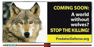 Predator Defense Billboard